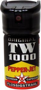 ドイツ製・熊よけペッパー 弾道液体ジェット 【ペッパー マン40ml】 | TW-1000 | スポーツ&アウトドア