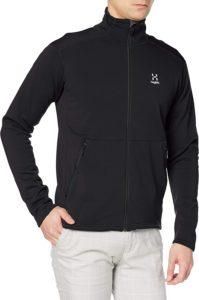 [ホグロフス] フリースジャケット バンジージャケット Bungy Jacket Men メンズ True black UK M (日本サイズL相当) | コート・ジャケット 通販
