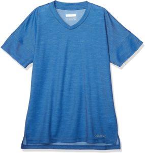 [Marmot(マーモット)]クルー(半袖) WS CLIMB WOOL H/S TE レディース ブラック 日本 S (日本サイズS相当) | Tシャツ・カットソー 通販