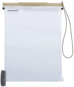 モンベル mont-bell ロールアップ マップケース M ライトグレイ 1124749 | モンベル(mont-bell) | スポーツ&アウトドア