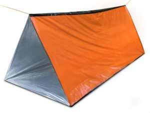 緊急用テント 登山用 簡易寝袋 サバイバル エマージェンシー シート 防寒 防風 非常用 災害用 緊急用ライフテント 2人用: ホーム&キッチン