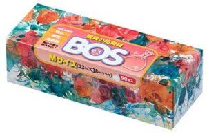 驚異の防臭袋 BOS (ボス) Mサイズ 90枚入り おむつ ・ うんち ・ 生ゴミ などの 処理 に最適 【袋カラー:ホワイト】 | BOS ボス | ごみ袋