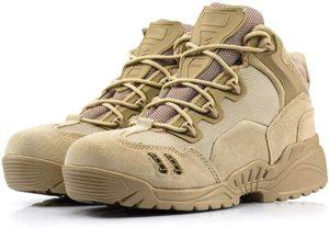 (B&G)米軍SWAT ミリタリー ブーツ メンズ ブラック サバイバルゲーム 防水 耐久性 サバゲー 靴 釣り 登山 アウトドア | シューズ&バッグ
