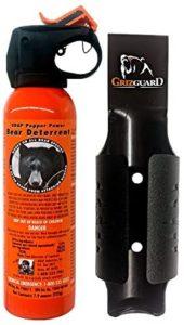 UDAP 熊撃退スプレー ホルスター付 (アメリカ森林警備隊採用品)正規輸入品 | UDAP | スポーツ&アウトドア