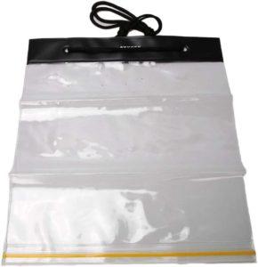 2個入り 防水マップケース ジッパーバッグ 透明文具バッグ 文房具透明ペンバッグ 収納袋 文房具袋 多機能 26.8×30.8cm | 車&バイク | 車&バイク