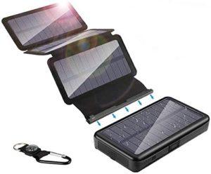 ソーラーチャージャーモバイルバッテリー|YELOMIN