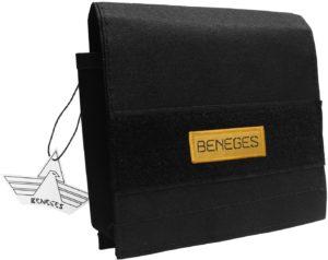 Beneges Molle対応 ダンプポーチ 薄型 サバゲーポーチ 地図 書類収納 防水 軽量 マップケース サイクリング 登山 釣り アウトドア用 (薄型ポーチ、ブラック) | ダンプポーチ・バッグ 通販