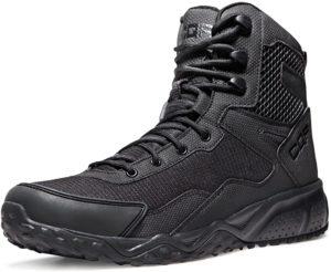 [CQR] 軽量 ミリタリーブーツ [ミドルカット・耐久性・通気性] アウトドア サバゲー 登山 日常着用 安全靴 キャンプ ライダー ブーツ: シューズ&バッグ