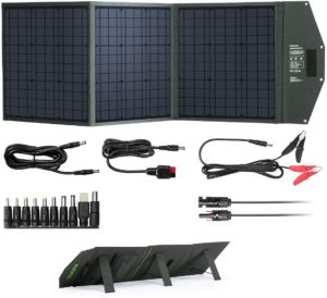120W折りたたみ式ソーラーチャージャー|EENOUR