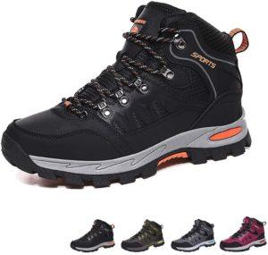 [GoodValue] トレッキングシューズ メンズ レディース ハイキングシューズ 防滑 ハイカット 登山靴 防水 厚い底 キャンプシューズ 軽量 登山用シューズ アウトドアシューズ 男女兼用   GoodValue   ハイキング・トレッキングシューズ