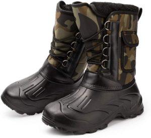 [GuDeKe] (グードコ) 棉靴 メンズ スノーブーツ 厚底 ムートンシューズ 長靴 ロングブーツ 防水 安全靴 スポーツ 防滑 お洒落 暖かい 軽量 滑り止め オシャレ | GuDeKe | ブーツ