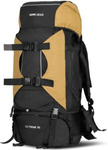 [HAWK GEAR(ホークギア)] バックパック 80L 大容量 防水 アウトドア 防災 災害 登山 旅行 (コヨーテ) | ワールドスポーツオンライン | 登山リュック・ザック