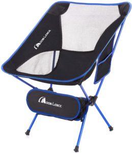 Moon Lence アウトドアチェア キャンプ椅子 折りたたみ コンパクト 超軽量 イス 収納バッグ付き ハイキング お釣り 登山 耐荷重150kg | MOON LENCE | チェア