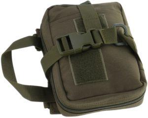 Perfeclan 1000Dナイロンモール応急処置バッグユーティリティアクセサリーウエストパックポーチ - 緑, 7.1x2.0x5.5インチ: スポーツ&アウトドア