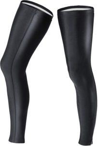ROYALCROWN ファスナー付き サイクルレッグカバー レッグウォーマー ランニング 登山 アウトドア スポーツ UPF50+ 両足セット 男女共用 ロング丈 ロードバイク 防寒 メンズ(S): 服&ファッション小物