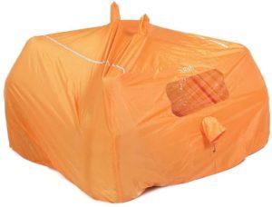 Rab(ラブ) タープ ツェルト シェルター ビバーク 緊急用 [4~6人用] 超軽量コンパクト 620g グループシェルター 4-6 MR-48-OR-4 オレンジ | Rab(ラブ) | ビバークザック・シート