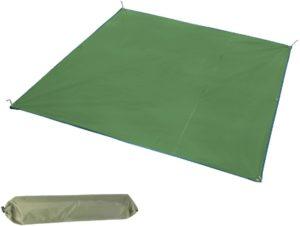TRIWONDER 多機能 タープ天幕 グランドシート 防水シート 軽量小型 テントシート キャンプマット 収納袋付き | TRIWONDER | テントシート