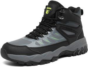 [Zcoli] アウトドア ハイキングシューズ メンズ レディース トレッキングシューズ 防水 防滑 衝突防止レザー 登山靴 大きいサイズ ハイカット 軽量 通気 ウォーキング 耐摩耗性 | Zcoli | ハイキング・トレッキングシューズ
