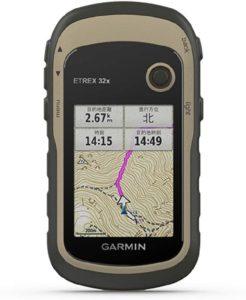 eTrex 32x   ガーミン(GARMIN)   トレッキング用GPS・アクセサリー