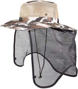 虫よけネット付き帽子|k-outdoorjp