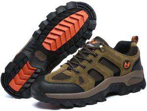 [ziitop] ハイキングシューズ メンズ レディース 登山靴 アウトドア 防滑 耐摩耗性 通気性 防水 衝突 (23.0cm~28.5cm)   ハイキング・トレッキングシューズ