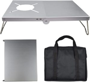 Valieno 遮熱テーブル SOTO ST-310 ST-330 遮熱板 シングルバーナー用テーブル