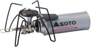 ソト(SOTO)レギュレーターストーブ ST-310