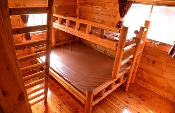 変わった2段ベッドにこどもたちも大興奮
