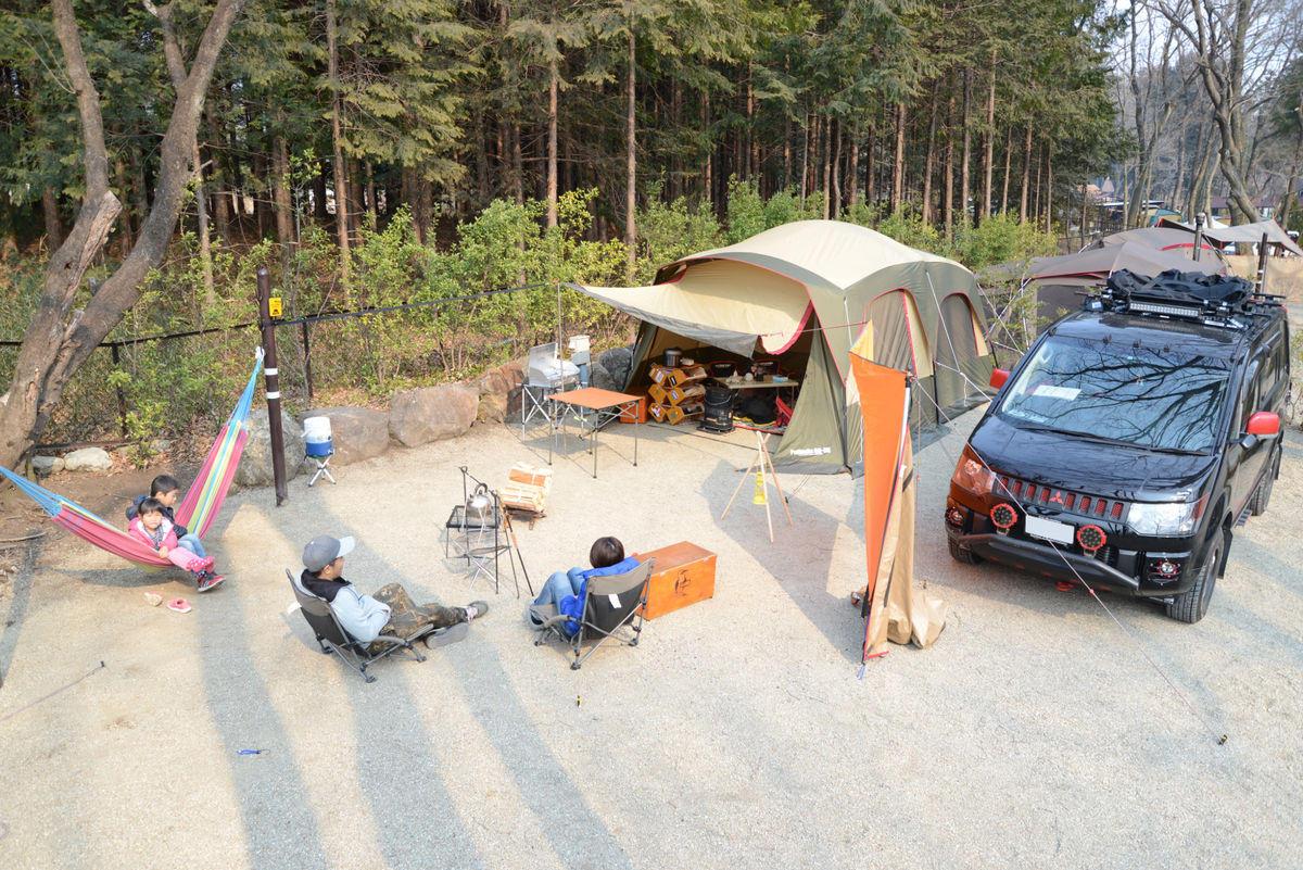 チョイ広めオートキャンプサイト