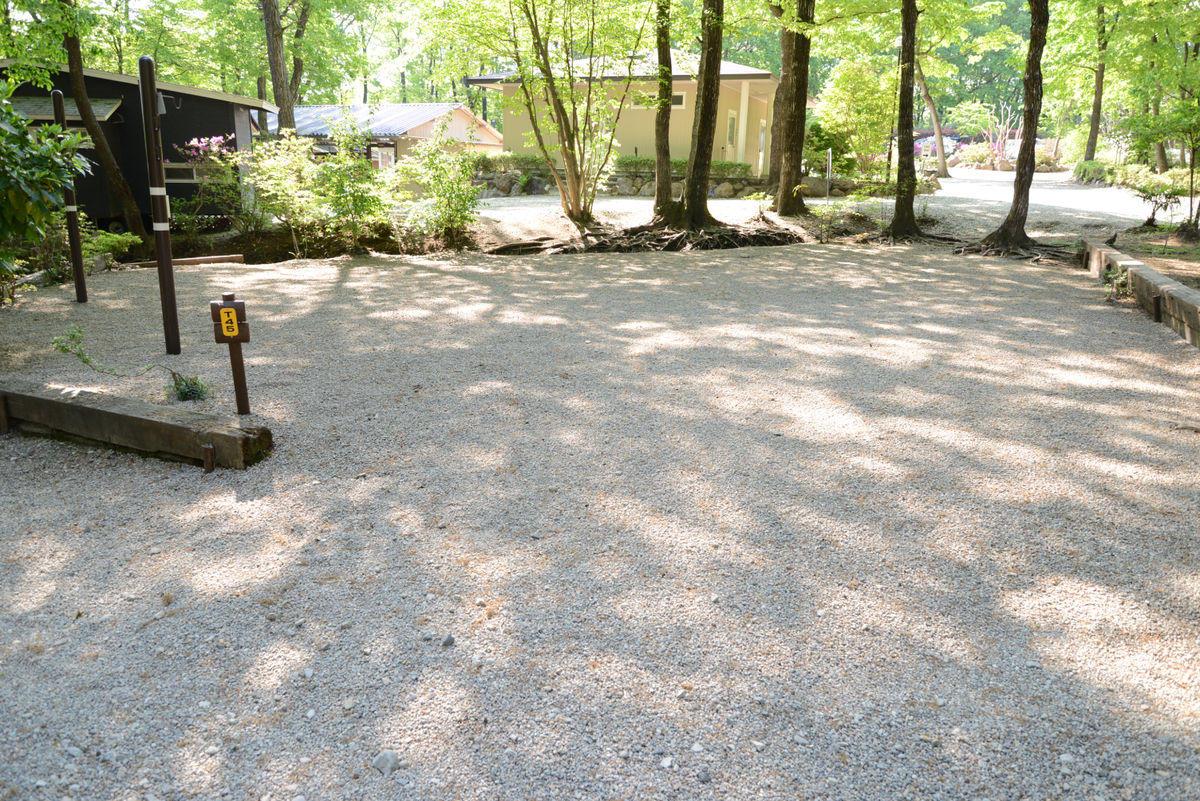 オートキャンプ区画型サイト