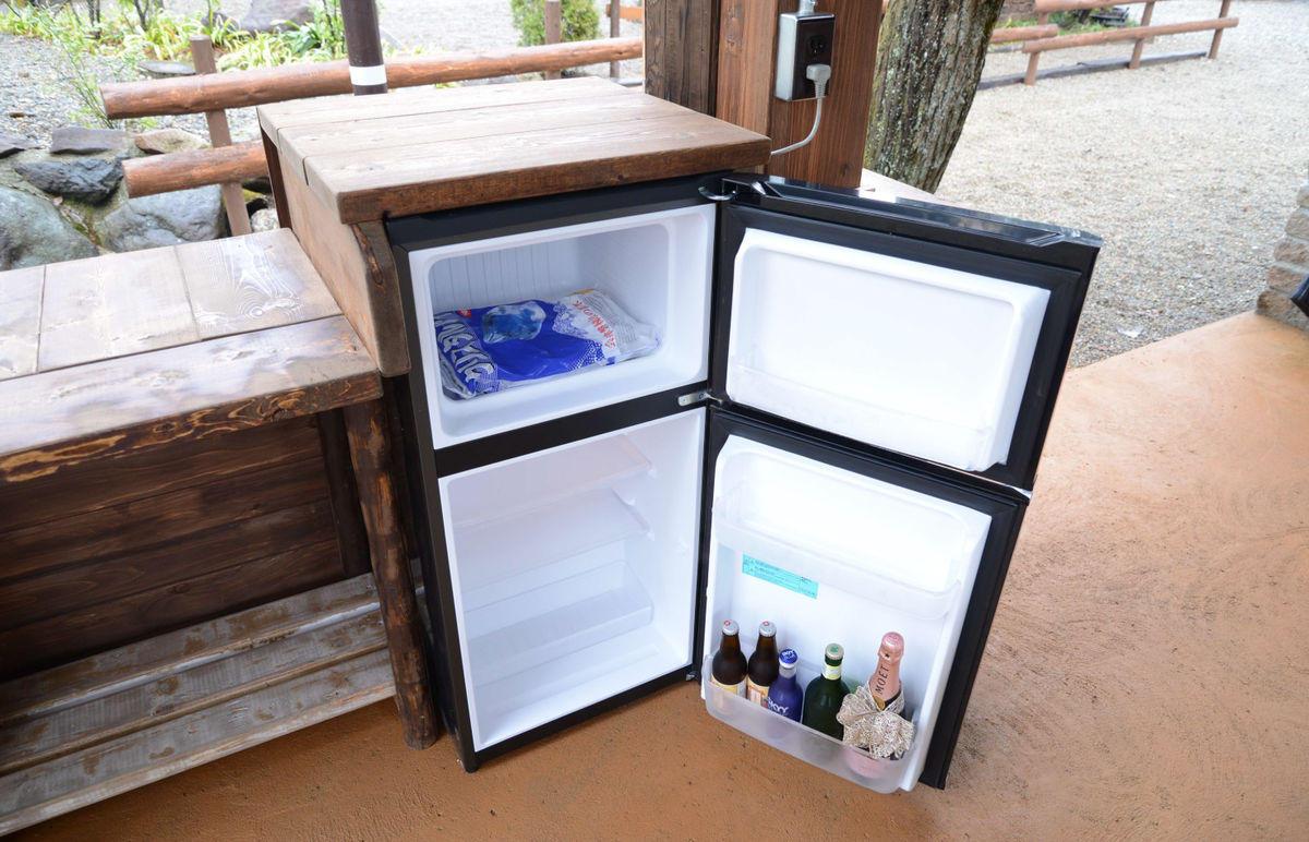 冷蔵庫 ( 冷凍付き )