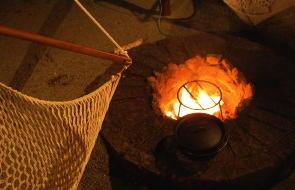 専用の焚火リング