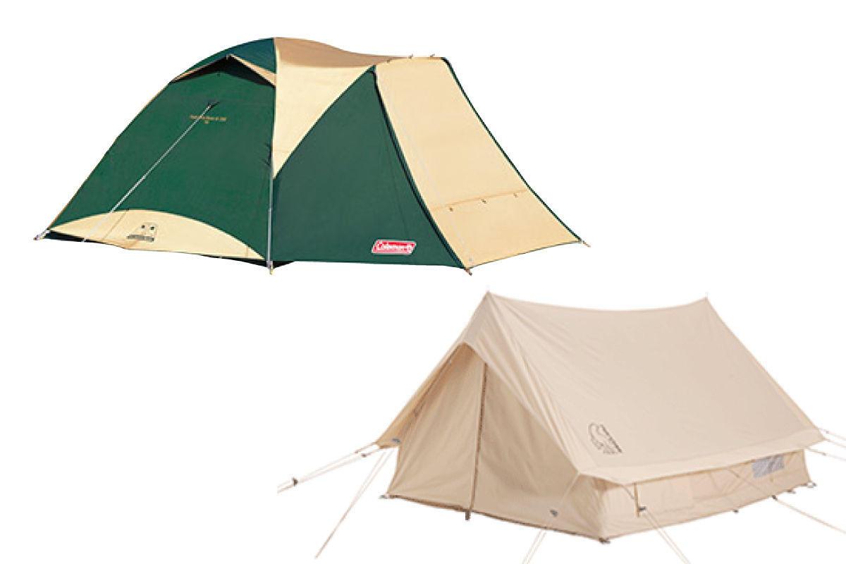 選べるテント+セットレンタル品